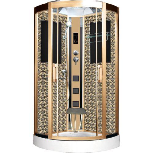 Душевая кабина Niagara Lux 7715G золото