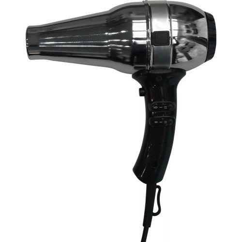 Фен для волос Nofer Hotel line 02013 1800 W черный, металлик