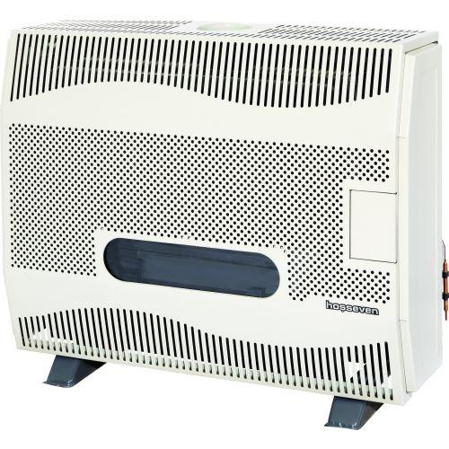 Газовый обогреватель Hosseven HBS-12/1V Fan с вертикальным дымоходом, с вентилятором