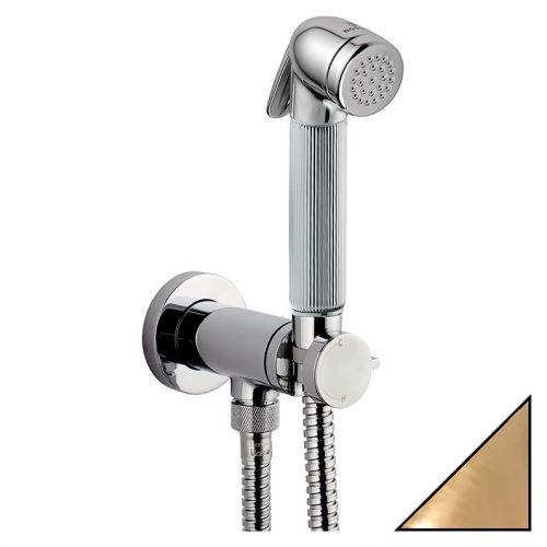 Гигиенический душ Bossini Nikita Mixer Set E37008B со смесителем, бронза