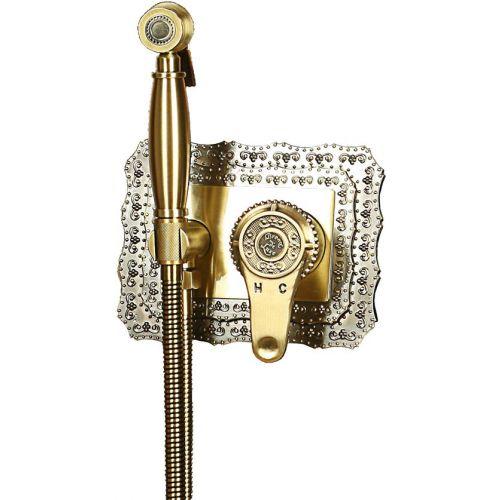 Гигиенический душ Bronze de Luxe 10136 со смесителем