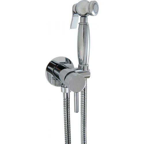 Гигиенический душ Nice Giulini Futuro FSH25/1531CR со смесителем, С ВНУТРЕННЕЙ ЧАСТЬЮ