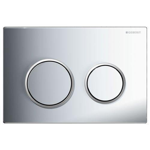 Кнопка смыва Geberit Omega 20 115.085.KH.1 хром/матовый хром