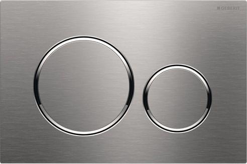 Кнопка смыва Geberit Sigma 20 115.882.SN.1 нержавеющая сталь