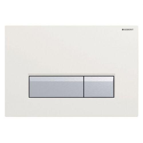 Кнопка смыва Geberit Sigma 40 115.600.SI.1 с системой удаления запахов
