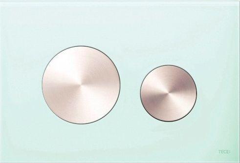 Кнопка смыва TECE Loop Modular 9240669 кнопка сатин, стекло на выбор
