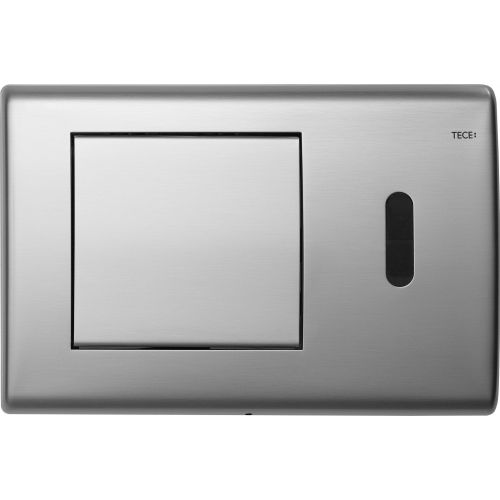 Кнопка смыва TECE Planus 6 V-Batterie 9240350 сатин