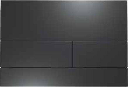 Кнопка смыва TECE Square II 9240833 черная матовая