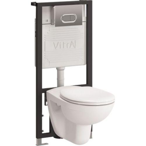 Комплект VitrA Normus 9773B003-7202 кнопка хром