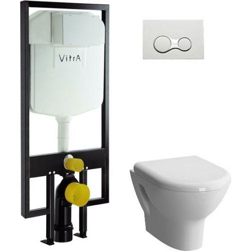 Комплект VitrA Zentrum 9012B003-7205 4 в 1 без микролифта