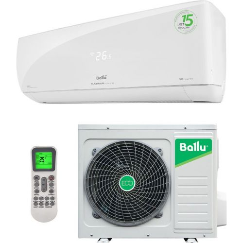 Кондиционер Ballu Platinum Evolution DC Inverter BSUI-09HN8 R32