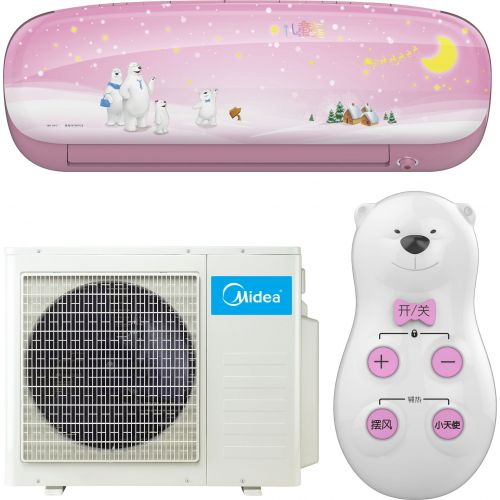 Кондиционер Midea Kids Star MSEABU-12HRFN1(SP)/MOB01-12HFN