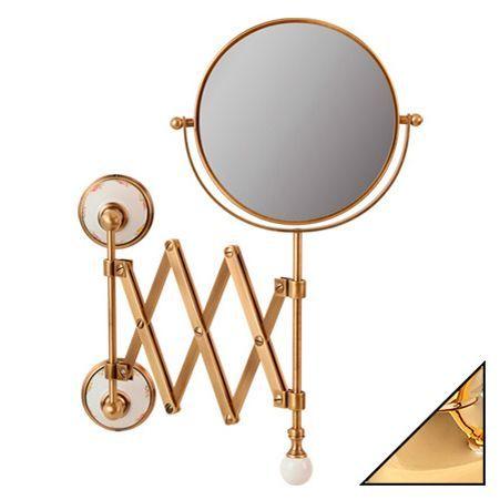 Косметическое зеркало Migliore Provance ML.PRO-60.519.DO золото