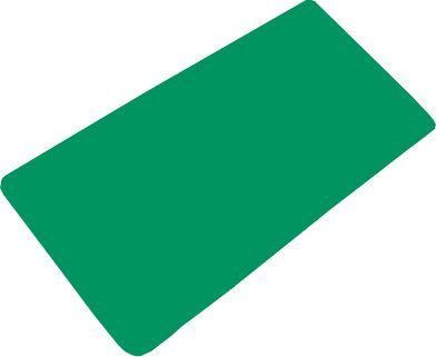 Коврик Bacchetta 36x71 зеленый в ванну