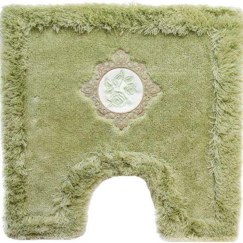 Коврик Bath Plus Royal зеленый с вырезом