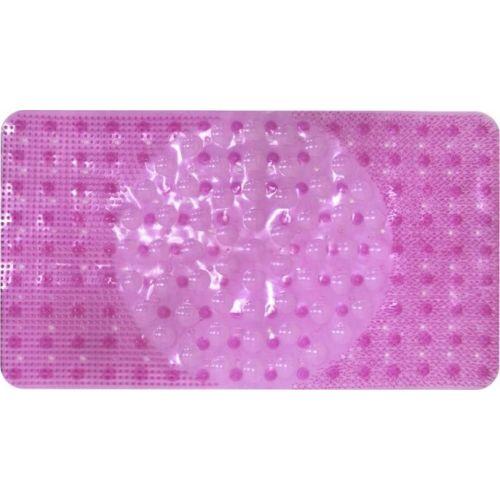 Коврик Bella массажный 66х38 розовый