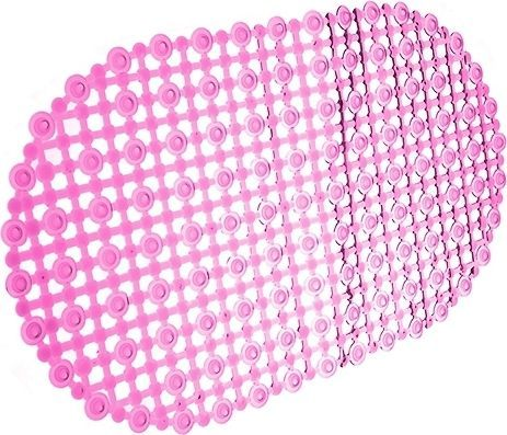 Коврик Bella сеточка 69х39 розовый
