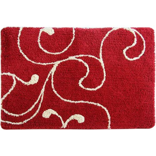 Коврик Iddis Flower Lace Red 90х60