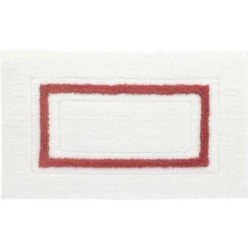 Коврик Kassatex Framed Stripe White/Paprika FSP-510-WPR белый