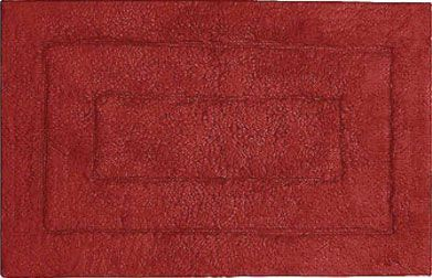 Коврик Kassatex Kassadesign Garnet Red KDK-2440-GAR бордовый, 101x61