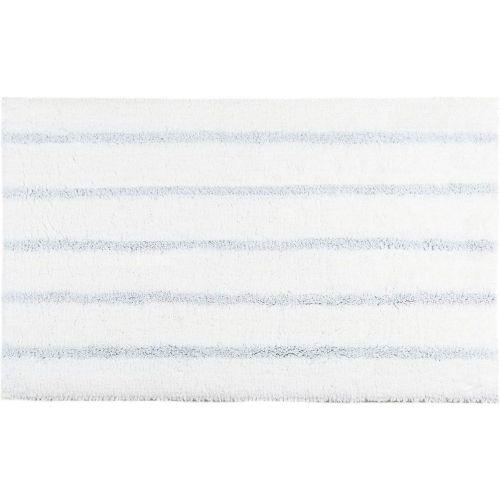 Коврик Kassatex Silver Stripe SSR-630-WSI белый