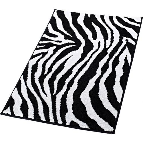 Коврик Ridder Zebra 711300 90х60 черно-белый