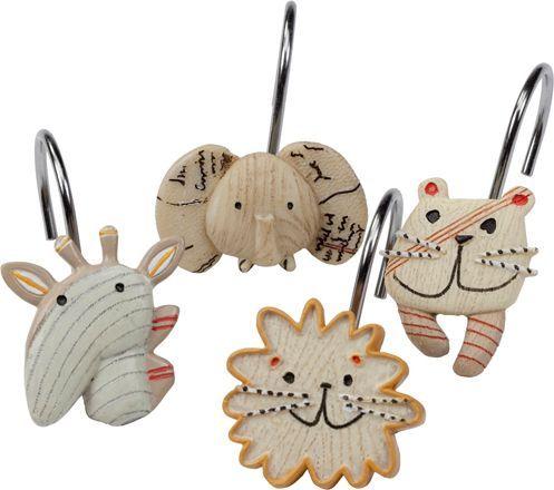 Крючок для шторы Creative Bath Animal Crackers