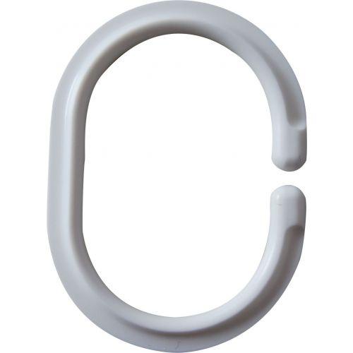 Крючок для шторы Ridder 49301 белый