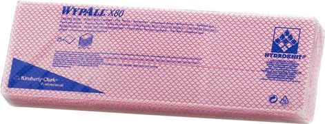 Материал протирочный Kimberly-Clark Wypall Х80 7568 салфетки (Блок: 1 уп. по 25 шт.)