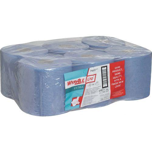 Материал протирочный Kimberly-Clark Wypall L10 7493 (Блок: 6 рулонов)