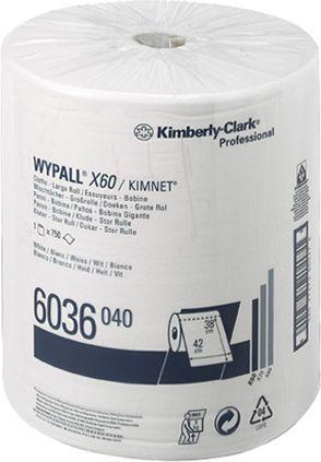 Материал протирочный Kimberly-Clark Wypall X60 6036 рулон