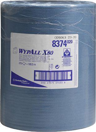 Материал протирочный Kimberly-Clark Wypall X80 8374 рулон