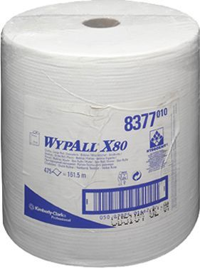 Материал протирочный Kimberly-Clark Wypall X80 8377 рулон