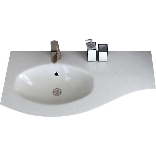 Мебельная раковина Cezares 50153 104х52 L bianco