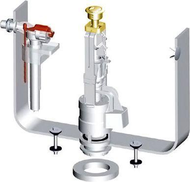 Механизм смыва ArtCeram HEA010 73 золото