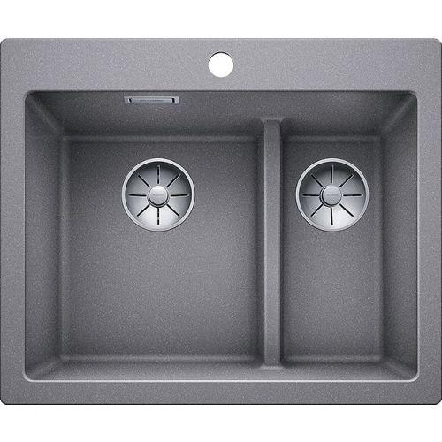 Мойка кухонная Blanco Pleon 6 Split алюметаллик