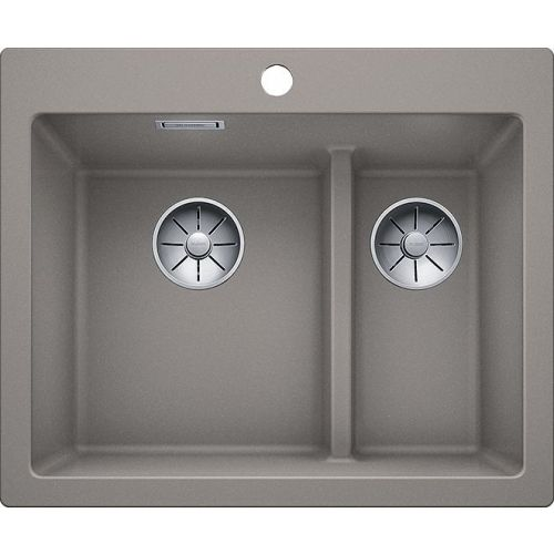 Мойка кухонная Blanco Pleon 6 Split серый беж