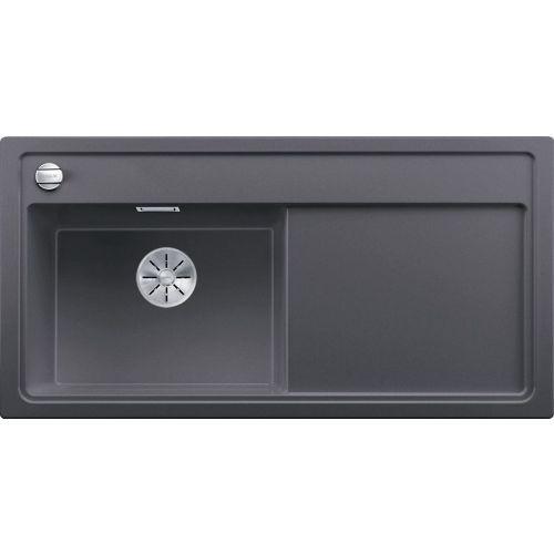 Мойка кухонная Blanco Zenar XL 6S темная скала, левая