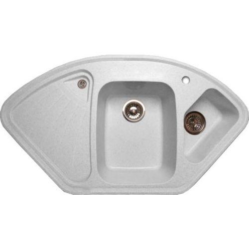 Мойка кухонная GranFest Corner GF-C1040E серый