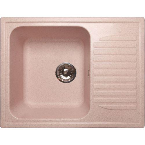 Мойка кухонная GranFest Standart GF-S645L светло-розовый