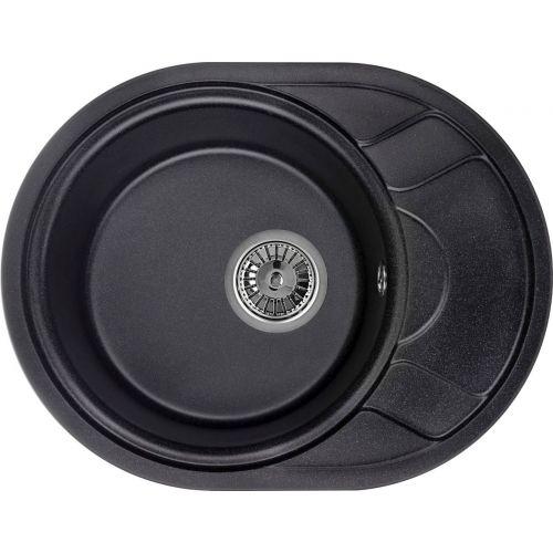 Мойка кухонная Granula GR-5802 черный