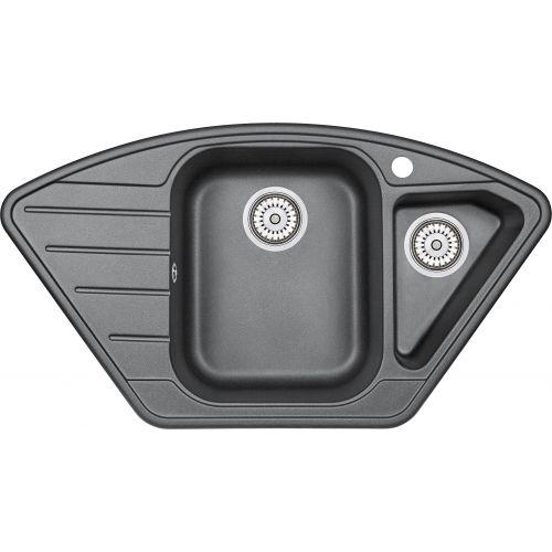 Мойка кухонная Granula GR-9101 шварц