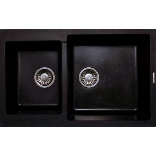 Мойка кухонная Lava D3 черная