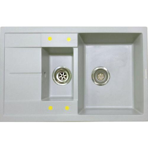 Мойка кухонная Lava D4 scandic (серый)