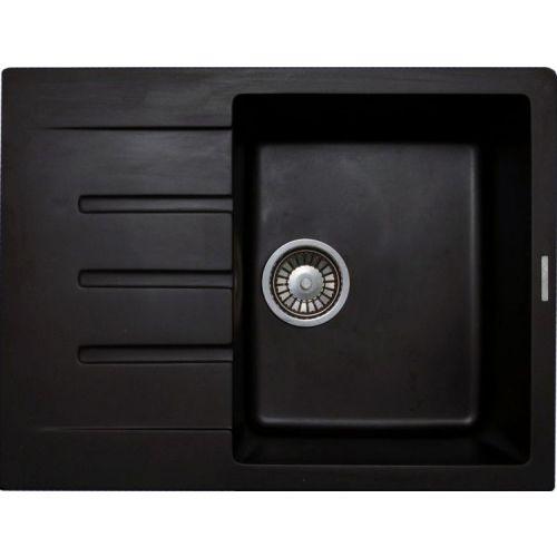 Мойка кухонная Lava L1 чёрный металлик