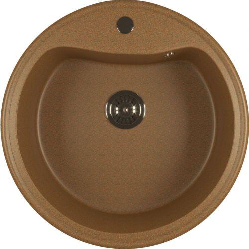 Мойка кухонная Mixline ML-GM09 (307) терракотовая