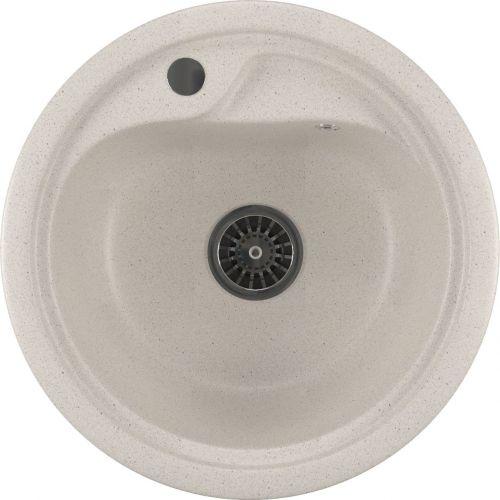 Мойка кухонная Mixline ML-GM10 белый