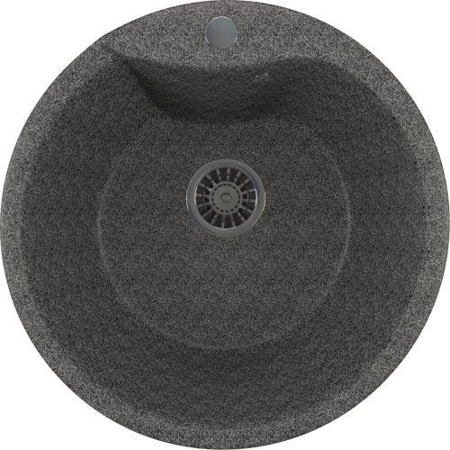 Мойка кухонная Mixline ML-GM12 темно-серый
