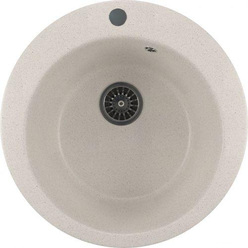 Мойка кухонная Mixline ML-GM13 белый