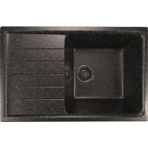 Мойка кухонная Mixline ML-GM19 черный